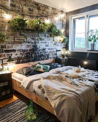 Bedroom  Earthy bedroom, Home decor bedroom, Bedroom interior