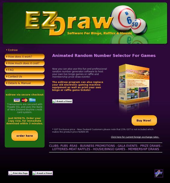Ezdraw Random Number Picker Software. Review  Get Full Review : http://scamereviews.typepad.com/blog/2013/02/ezdraw-random-number-picker-software-get-for-free.html