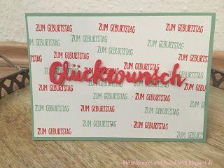 Stampin Up, Sun, Sonnenschein, Grüße voller Sonnenschein, Geburtstags Karte, Birthday Card, wishes