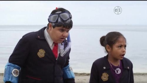 I absolutely lost it at Olaf's face XD #OddSquadPBS