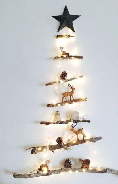 Cómo hacer originales y creativos árboles de navidad para decorar toda tu casa - El Cómo de las Cosas