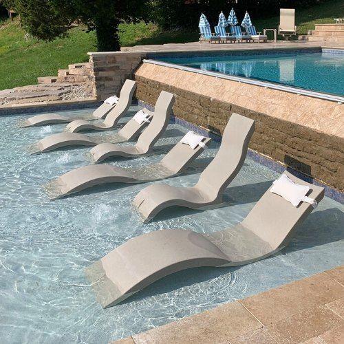 Ledge Loungers Sunbathe In Style Pool Lounger Tanning Ledge