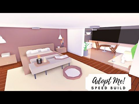 Party House Modern Rosy Home Speed Build Part 2 Roblox Adopt Me Youtube In 2021 Cool House Designs Cute Room Ideas Modern House
