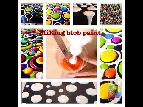 Acrylic Blob Painting