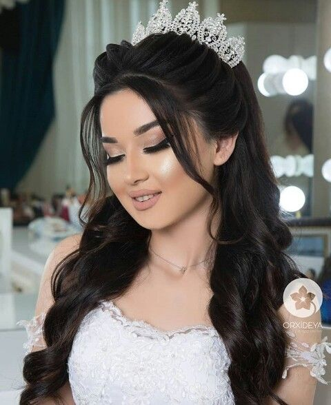 Pin By Bouzit Khadija On Someday Thick Hair Styles Hair Styles Wedding Hair And Makeup