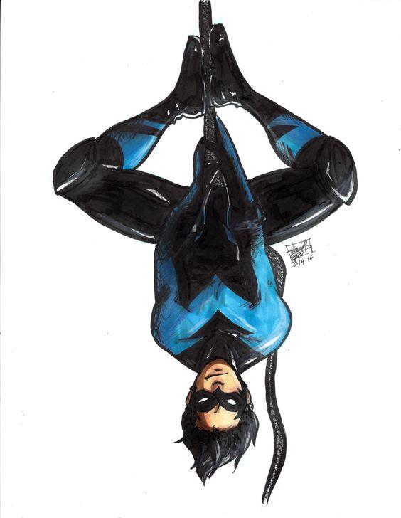 "are-you-kobra-kidding-me: "" Nightwing is literally my favorite hero ever """