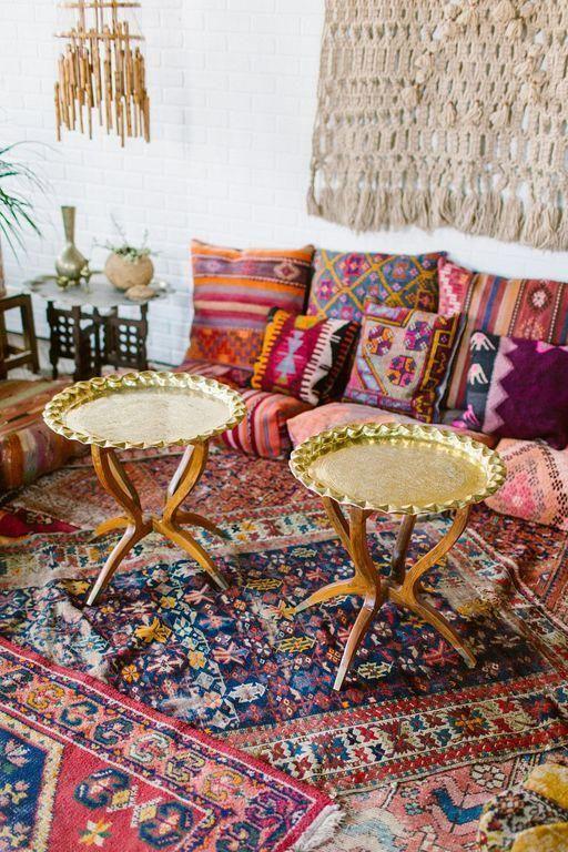 40 Boho Floor Pillow Ideas For Living Room