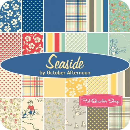 "Seaside 5"" Stacker October Afternoon for Riley Blake Designs - Fat Quarter Shop"