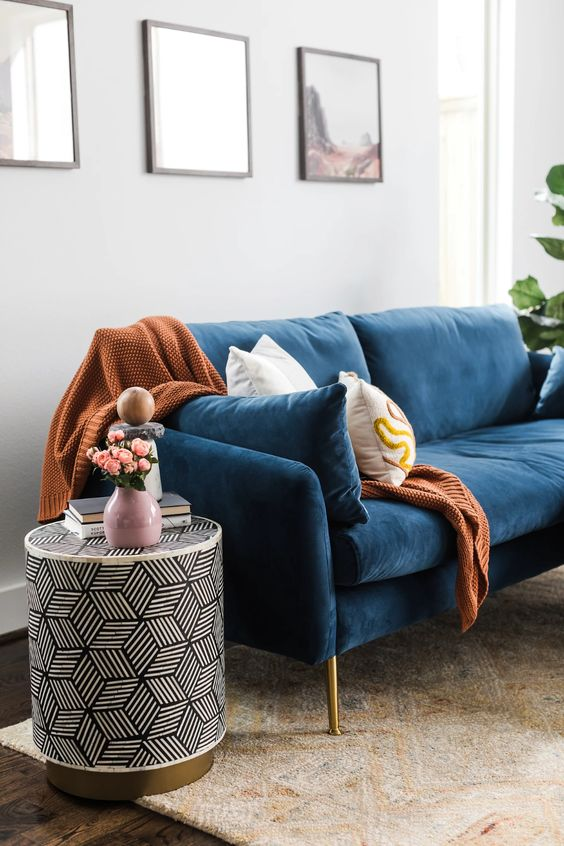 Albany Park Mid-Century Modern Couch - Cozy Designer Sofa | Albany Park