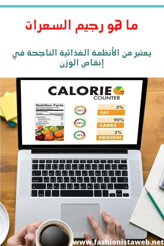 ما هو رجيم السعرات Health Diet Calorie Counter Health