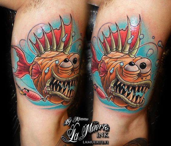 Badass new school tattoos google search art for Tattoo school listings