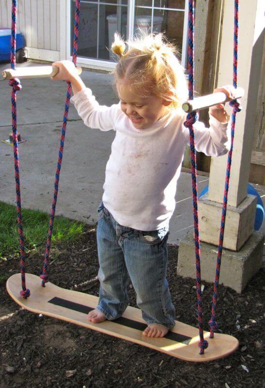 10 Diy Garten Schaukeln Die Du Fast Ohne Anstrengung Aufstellen Kannst Garten Schaukeln Gartenschaukel Kinder Gartenschaukel
