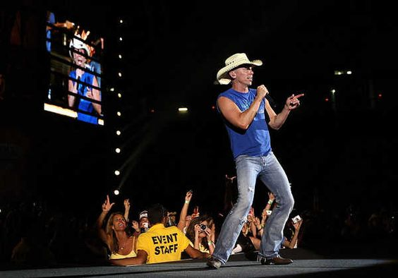Kenny Chesney...always get your $$ worth and more!