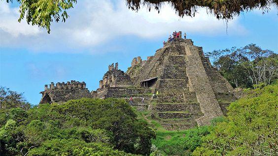 Zona Arqueológica de Toniná, Chiapas, México