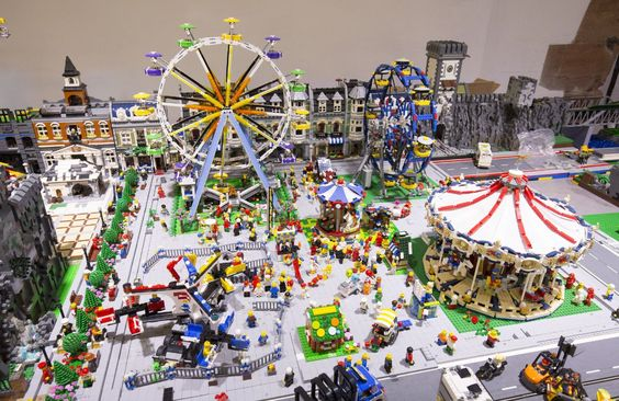 The large LEGO® exhibition of fans and builders | Garden Show Kaiserslautern