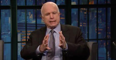 Surprise! John McCain withdraws Trump support