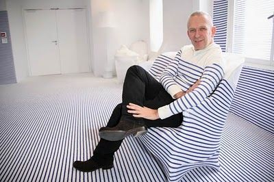 #JeanPaulGaultier, #fashiondesigners  www.jeanpierrebua.com