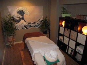 Relaxing Massage Treatment Room 1
