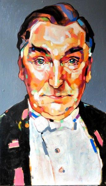 Carson 120/70 cm  oil on canvas