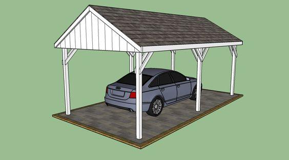 European Carport Plans #23784