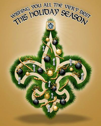 new orleans saints christmas