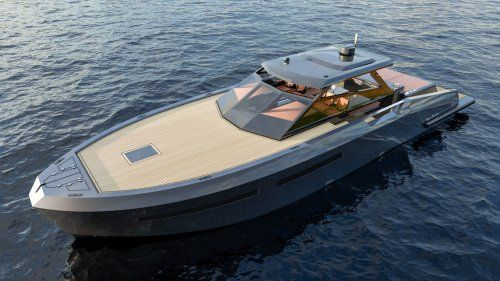 New Mazu 52 Hard Top Addition To The Mazu Yachts Model Range Yacht Model Yacht Boat