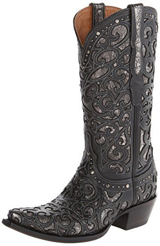 Womens Lucchese Women's Handcrafted 1883 Sierra Lasercut Inlay Cowgirl Boot Online Size 36