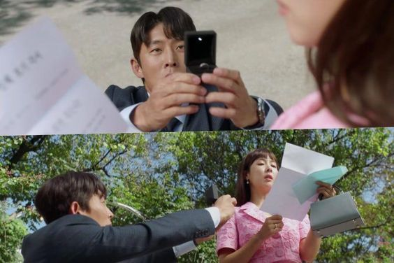 "Watch: Go Joon Makes An Unusual Proposal Of Marriage To Jo Yeo Jeong In ""Cheat On Me If You Can"""