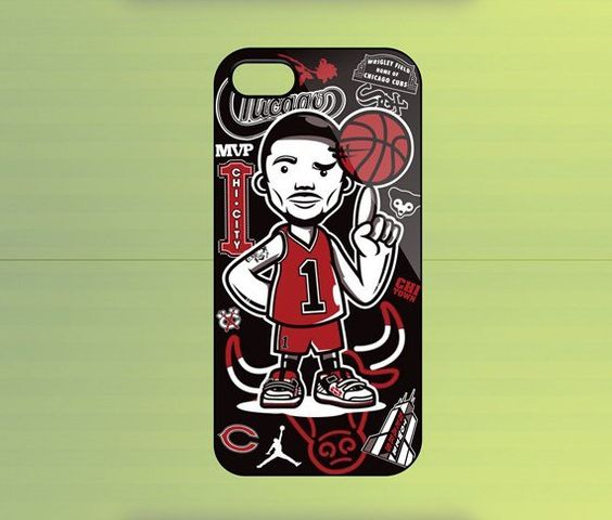 Derrick Rose Taste Of Chicago Case For iPhone 4/4S, iPhone 5/5S/5C, Samsung Galaxy S2/S3/S4, Blackberry Z10
