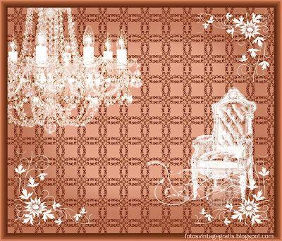 Imágenes vintage gratis / Free vintage images: Lámpara victoriana