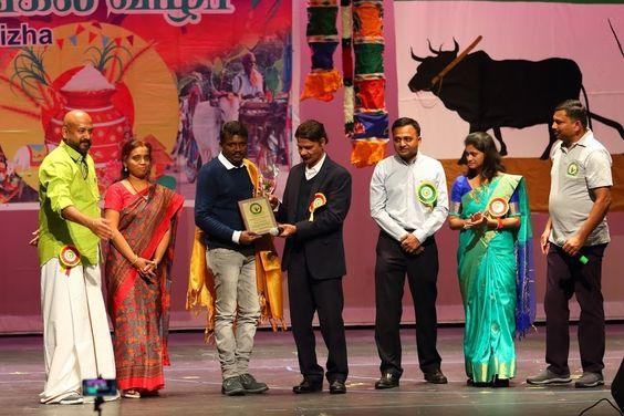 Washington TamilSangam honoured Pariyerum Perumal Movie Director