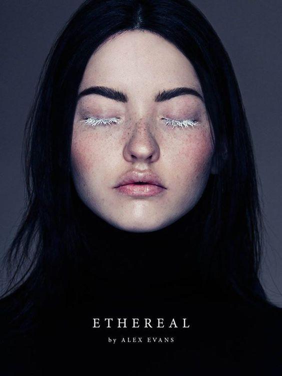 Institute Magazine Ethereal - Photographed by Alex Evans Model Mary / Elmer Olsen Hair & Make-up Natalie Ventola / P1M Nails Nargis Khan / P1M http://institutemag.com/2015/04/13/ethereal/