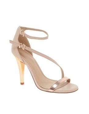 REVEL: Strappy Beige Heels | S T Y L E | Pinterest | Posts, Top ...