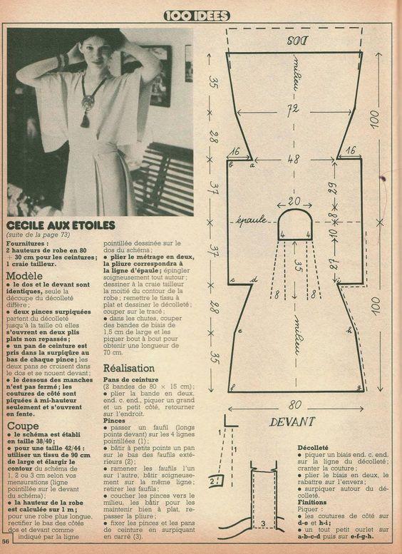 Couture vintage couture facile and tricot et crochet on pinterest - Idees loisirs creatifs gratuit ...