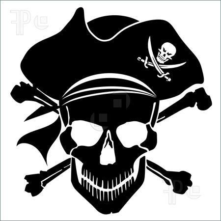 ... about Pirate Skull on Pinterest | Skulls, Human Skull and Grim Reaper