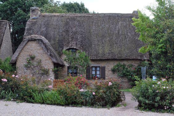 chaumière, village de Kerhinet, Loire Atlantique