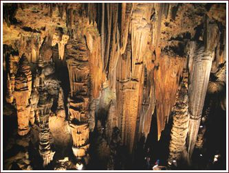 How about we explore the caves in Luray, VA?