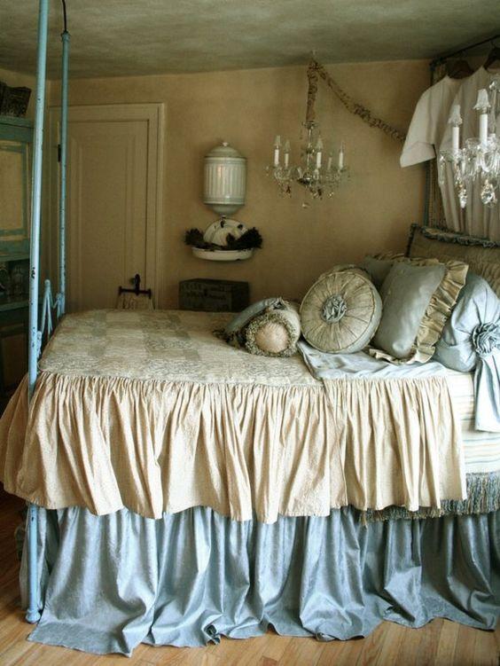 10 romantische schlafzimmer bieten komfort und gemütlichkeit ... - Romantische Schlafzimmer Bilder