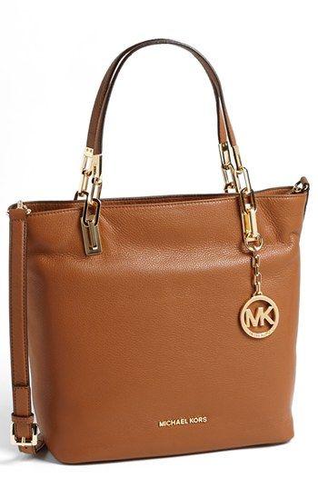 MICHAEL Michael Kors 'Medium Brooke' Leather Tote | Nordstrom