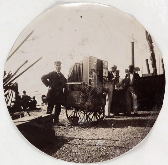 Beach photographer, c.1890, National Media Museum Collection / SSPL
