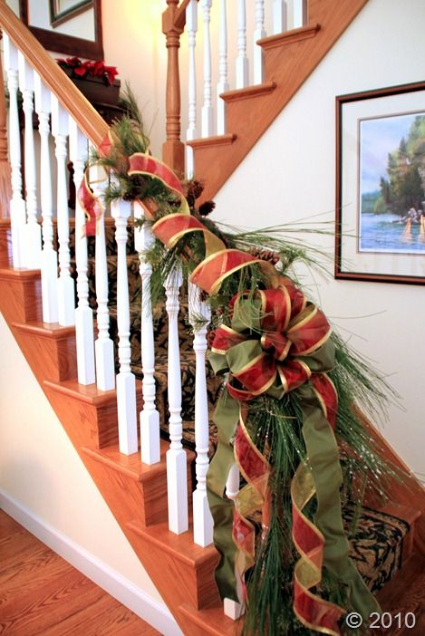 Staircases, Stairs and Stair railing on Pinterest