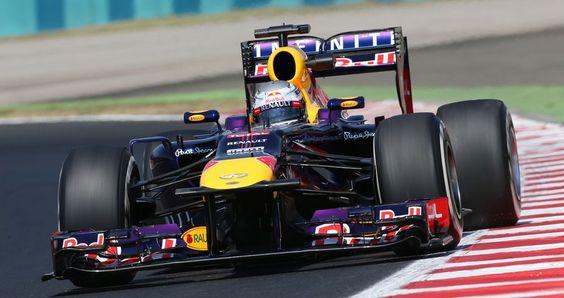 Sebastian Vettel im Training nicht zu schlagen !