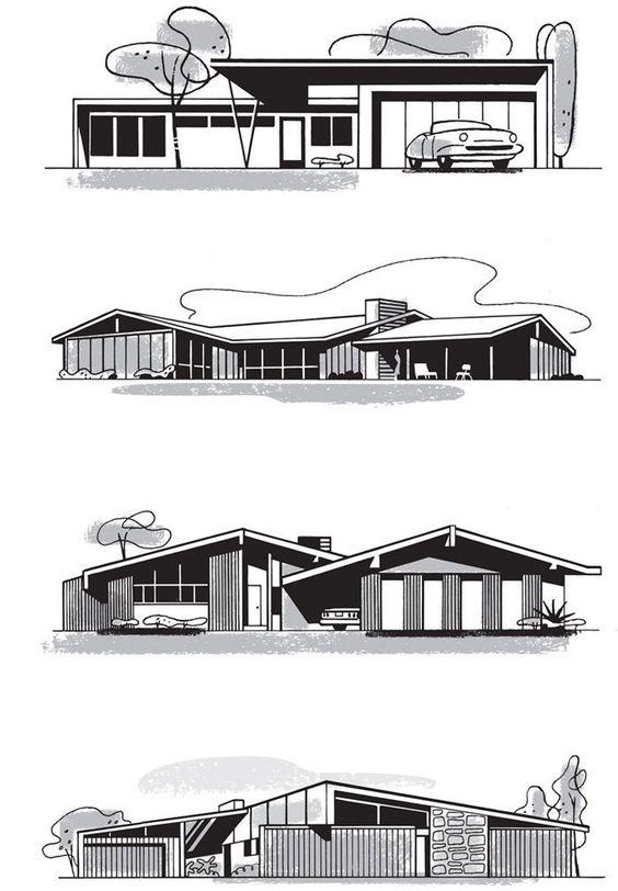 LA Houses by Paul Rogers