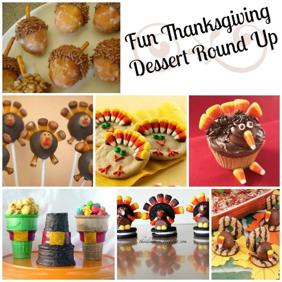 Fun thanksgiving desserts round up food and recipes for Fun and easy thanksgiving dessert recipes