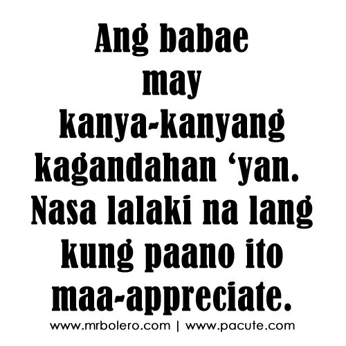 Tagalog Love Quotes, Love Quotes And Pick Up Line On Pinterest