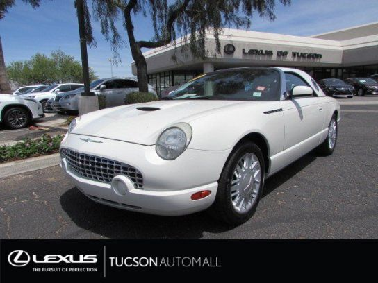 Convertible 2002 Ford Thunderbird With 2 Door In Tucson Az 85705 Ford Thunderbird Ford Thunderbird