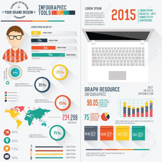 Infographic Tutorial infographic tutorial illustrator cs3 templates for flyers : graphic design resume infographic - Google Search | resume ...