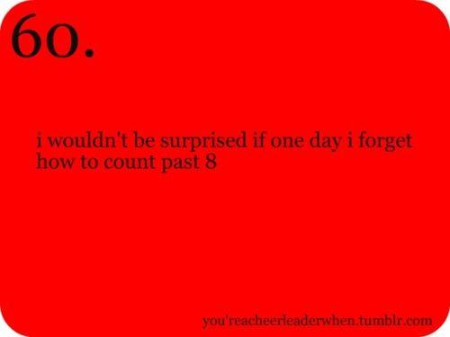 I really wouldn't