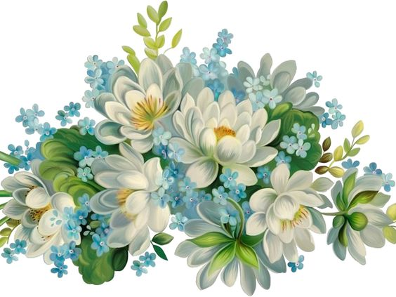 .flores para decoupage:
