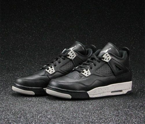 Authentic Jordan 4 Oreo AJ4 408452-003 Basketball Shoe